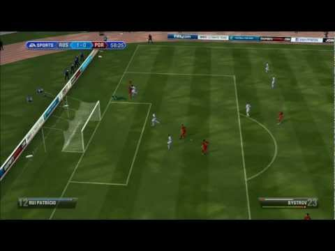 [HD] Russia - Portugal  / Russland - Portugal _ WM Qualification _ 12/10/2012  Let's Play Fifa 13 #2
