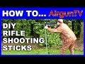 How to make a set of SHOOTING STICKS