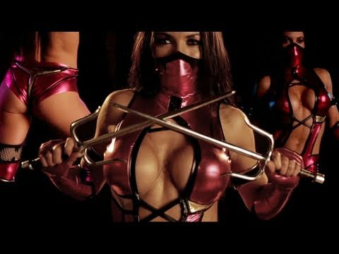 Mortal Kombat 9 - Mileena Cosplay (HD 720p)