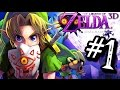 majora's mask 3d walkthrough gameplay part 1 - into termina (3ds)
