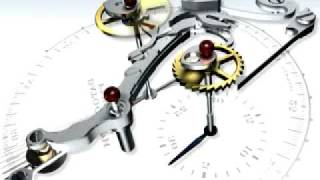 The Lange und Shne Datograph - jumping minute counter mechanism