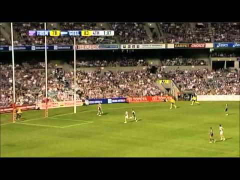 Fremantle vs Geelong 4th Qtr Highlights Round 2 2011