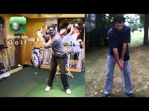 Golf Set Up And Backswing iPhone App Golf Lesson
