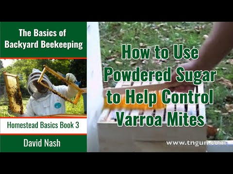 Beekeeping: Mite control Using Powdered Sugar