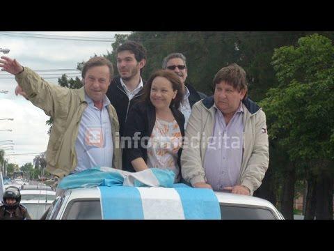 <b>Balotaje.</b> Varisco cerr� campa�a con una caravana en apoyo a Macri