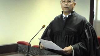 Dr. José Carlos Manhabusco em sustentação oral junto ao TRT24