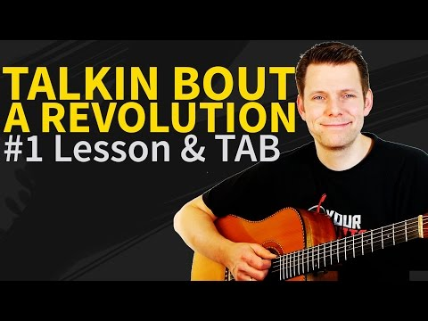 Guitar Lesson: Talking about a revolution - Tracy Chapman - How to play intro&amp;Verse&amp;chorus
