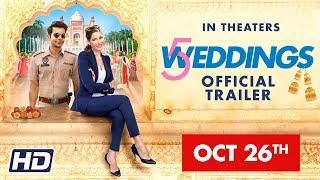 '5 Weddings' International Trailer    Nargis Fakhri   Rajkummar Rao   Bo Derek   Candy Clark