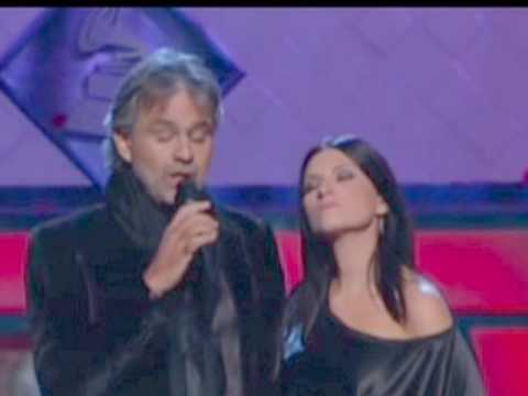 "Laura Pausini y Andrea Bocelli  ""Vive ya"" 2009"