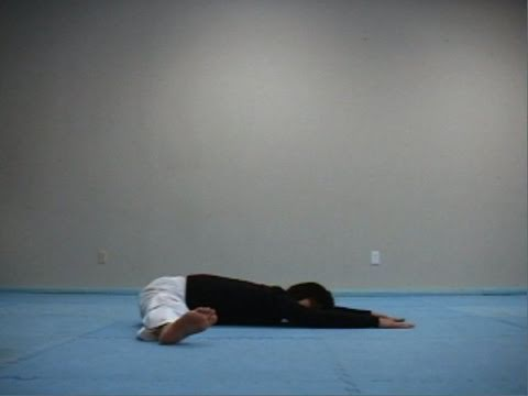 Taekwondo Stretching Exercise 3 (taekwonwoo)