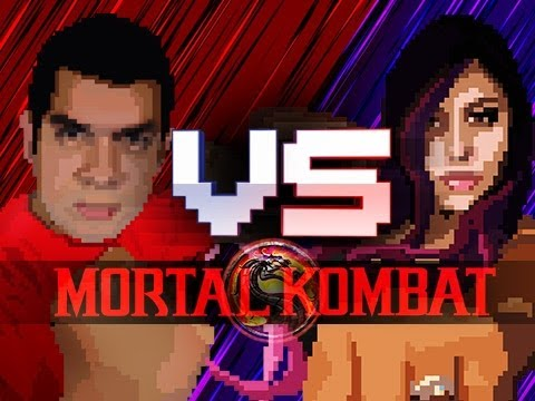 """ITS ON"" Husband Vs. Wife - Mortal Kombat"