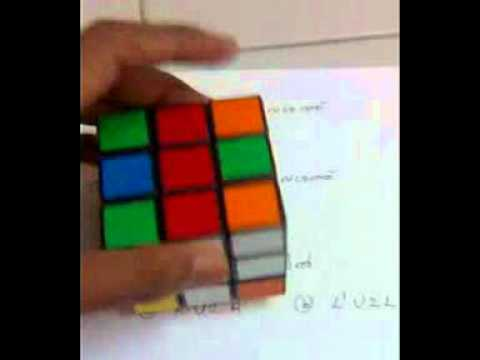Solving Rubiks cube Malayalam part 3 Bottom layer.3gp