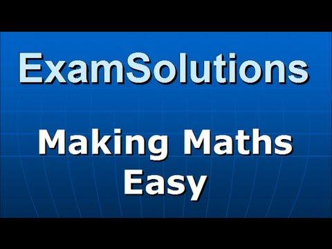 A-Level Edexcel C3 January 2010 Q2(b) : ExamSolutions