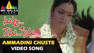 Ammadini Choosthe Video Song - Nuvvu Nenu Prema