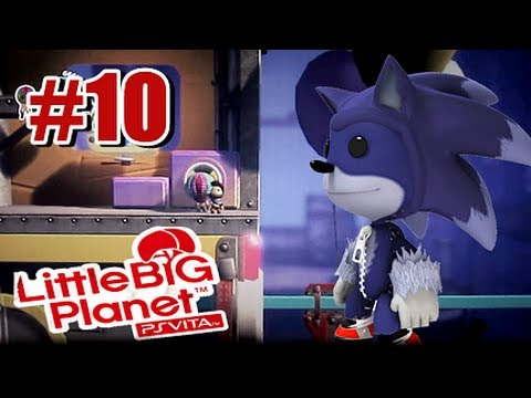 Little Big Planet PS Vita - Story Mode Part 10 Co-op w/SoulSilver79
