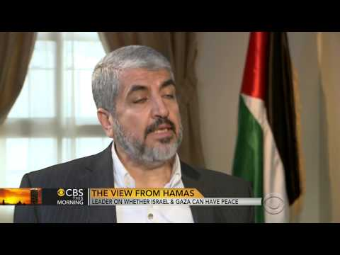 Hamas leader: No peace until Israel government leaves (Gaza)  7/28/14