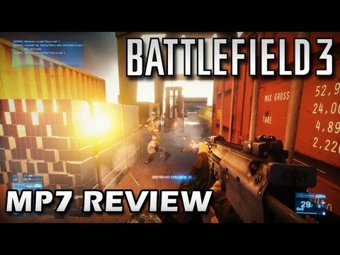 Battlefield 3: MP7 PDW Weapon Review