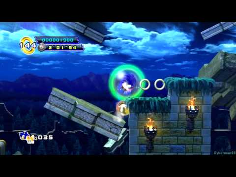 Sonic the Hedgehog 4: Episode 2 PS3 - [Part 1 ~ Sylvania Castle Zone + Boss 1]