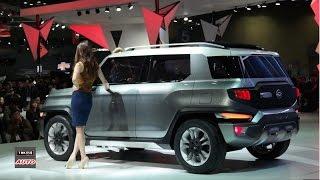 SsangYong представил гибридный кросс-кабриолет XAV