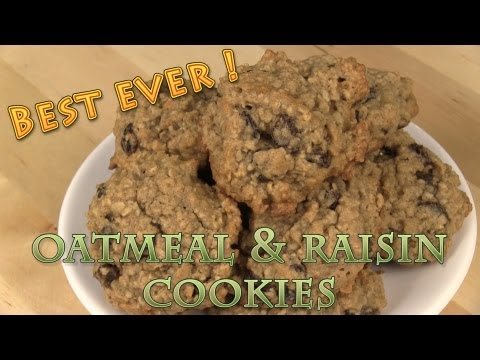 Best Ever Oatmeal Raisin Cookies Recipe