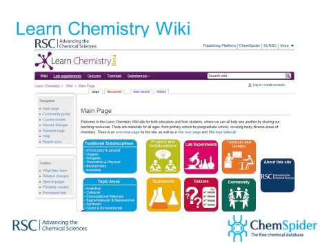 Online resources for spectroscopy from the Royal Society of Chemistry