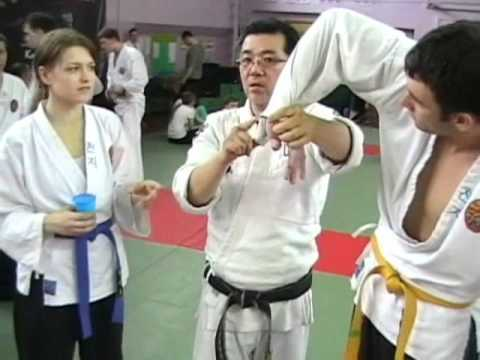 (90)Gongkwon Yusul Archangelsk Russia seminar(Korea martial arts,Hapkido)
