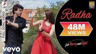 Radha - Full Song Video | Anushka | Shah Rukh | Pritam