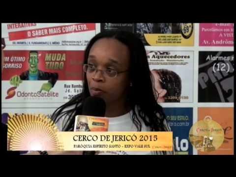 Cerco de Jericó 2015 - Entrevista - Adriana (Pastoral dos Surdos)