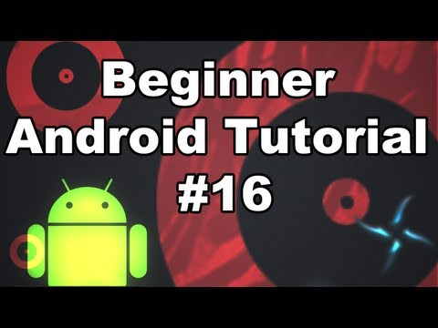 Android The Basics 16:  hardware menu button & Menu inflater items