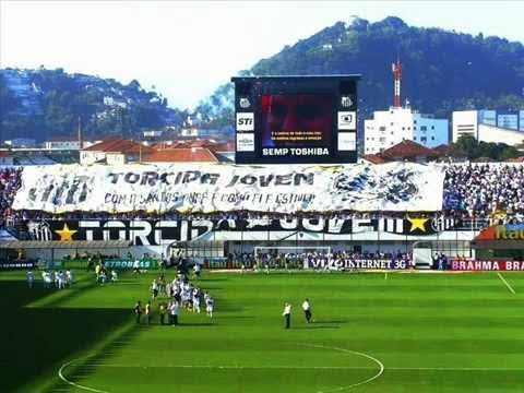 TORCIDA JOVEM DO SANTOS GRITOS DE ARQUIBANCADA