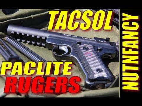 """Tactical Solutions PacLite Rugers"" by Nutnfancy (OFFICIAL REVIEW)"