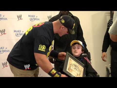 WWE Superstars take part in the annual Make A Wish Pizza Party