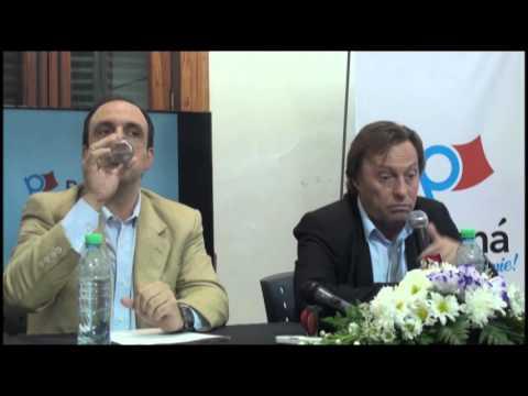 <b>Paraná-Santa Fe.</b> Varisco y Corral hablaron de proyectos y de corrupción