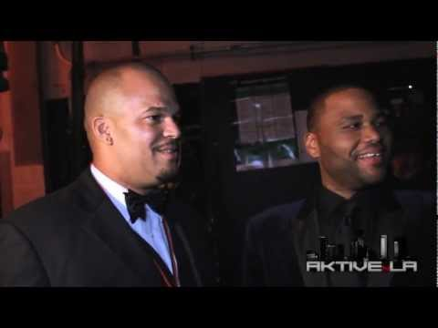 Aktive N LA - Z Son of Abraham bagging with Anthony Anderson & Chris Spencer