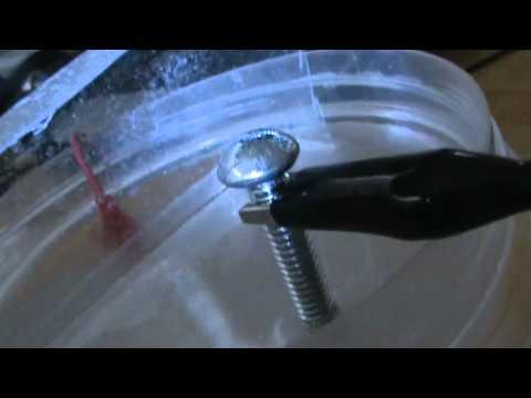 HHO Generator hydrogen separation test # 3