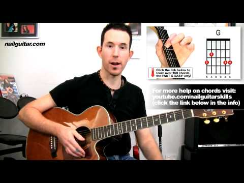 Time Of Your Life (Good Riddance) Green Day - Easy Acoustic Songs Guitar Lessons
