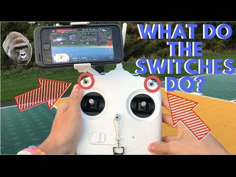 In Depth Look at the DJI Phantom 3 Controller Modes
