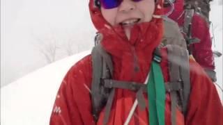 冬山 登山教室 backcountry 穂高