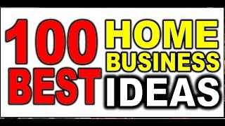 how to start your own business - 100 business ideas - youtube