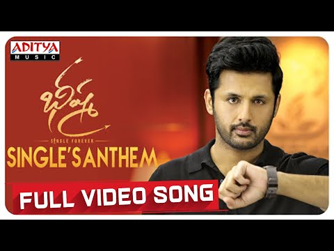 #SinglesAnthem Full Video Song | Bheeshma Video Songs | Nithiin, Rashmika | Mahati Swara Sagar
