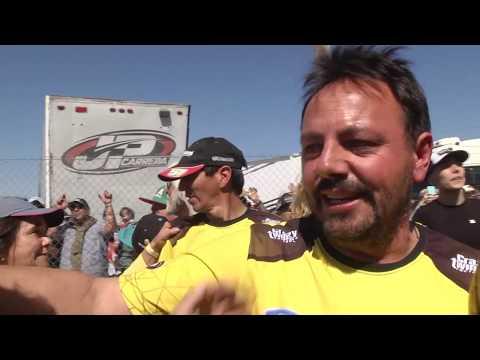 La emoción del equipo y de la familia del Gurí Martinez tras finalizar la carrera