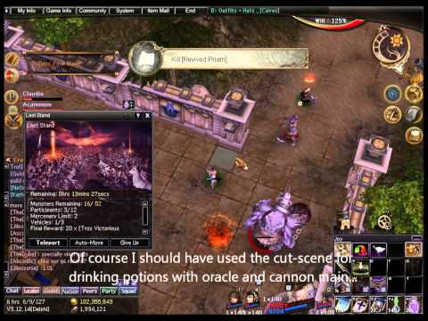 Atlantica Online TBS mission: Last Stand, solo run in squad mode 3/3