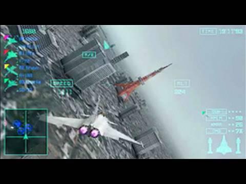 Ace Combat Joint Assault - PSP - Trailer 2