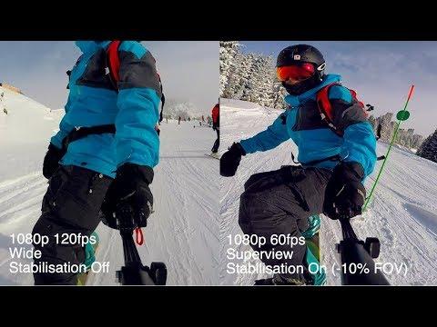 Best GoPro Settings For Snowboarding - [Winter Vanlife DAILY]