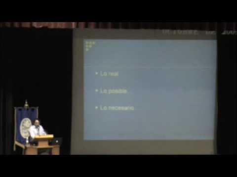 Conferencia sobre Epistemología y Educación (Parte 3-Última)