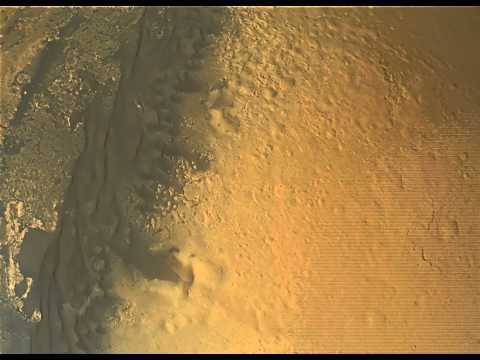 Complete Mars Curiosity Descent - Full Quality Enhanced HD 1080p Landing   Heat Shield impact