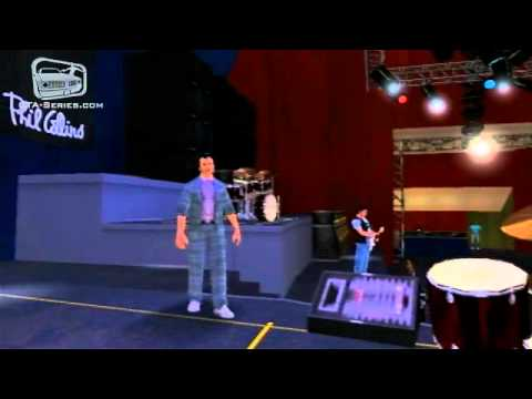 &quot;In The Air Tonight&quot; - Phil Collins Concert in GTA Vice City Stories