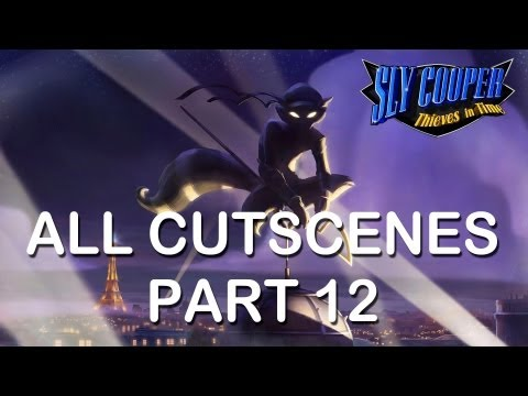 "Sly Cooper Thieves in time All cutscenes part 12 PS3 PS Vita HD ""sly cooper 4 all cutscenes"""