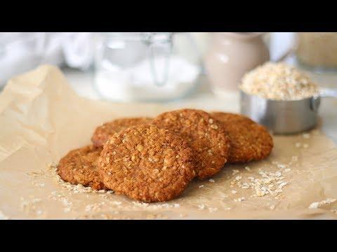 ANZAC Biscuits Recipe   Recipes by Carina