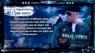 Cosculluela – -Solo Verte- con Letra  ★New Romantic Reggaeton 2013★